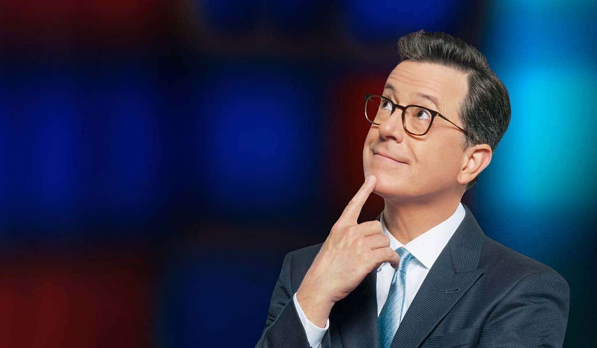 Is Stephen Colbert Vegan