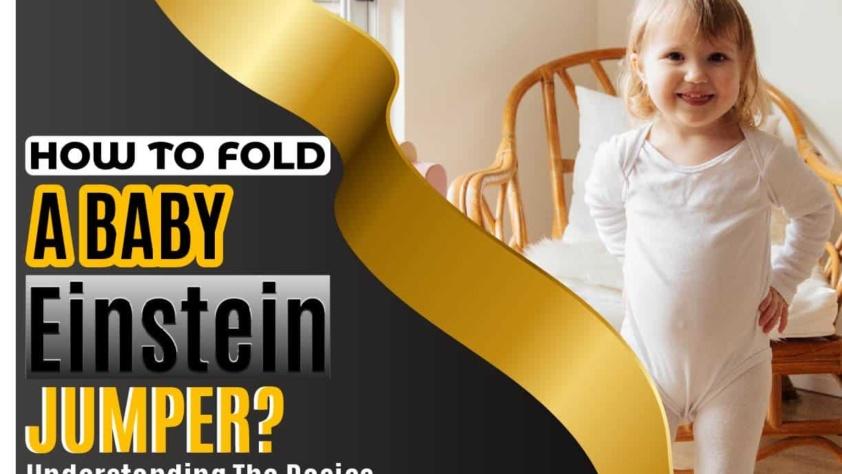 How To Fold a Baby Einstein Jumper